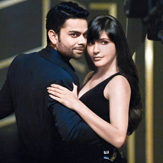 Anushka and Virat in TV commercial