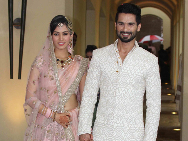 Shahid and Mira together at hotel in Gurgaon